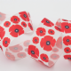 Berisfords Ribbon: Poppy 25mm